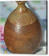 Rare John Regis Tuska Pottery Vase Acrylic Print