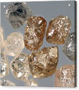 Raw Diamonds Acrylic Print