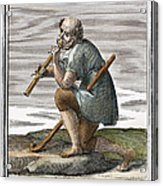 Recorder, 1723 Acrylic Print