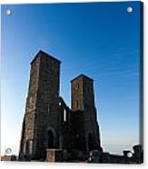Reculver Towers Acrylic Print