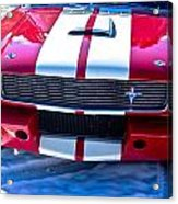 Red 1966 Ford Mustang Shelby Acrylic Print