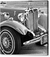 Red Roadster Acrylic Print