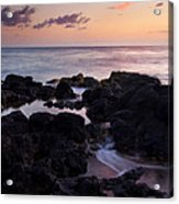 Red Tides Acrylic Print
