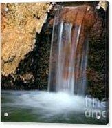Red Waterfall Acrylic Print