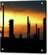 Refinery Acrylic Print