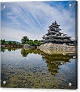Reflected Castle  Acrylic Print