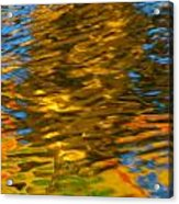 Reflection In Water. Acrylic Print
