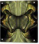 Reptilian - Green Acrylic Print