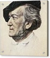 Richard Wagner (1813-1883) Acrylic Print by Granger