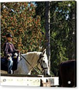 Riding Soldiers Acrylic Print