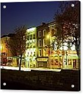 River Liffey, Dublin, Co Dublin, Ireland Acrylic Print