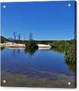 River Namaqualand Acrylic Print