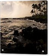Rocky Coastline, Poipu, Kauai, Hawaii Acrylic Print