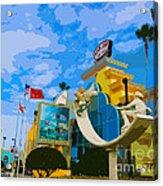 Ron Jon Surf Shop In Cocoa Beach  Acrylic Print
