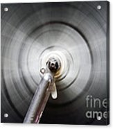 Rotating Wheel Acrylic Print