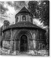 Round Church Of The Holy Sepulchre Acrylic Print