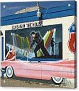 Route 66 Elvis Acrylic Print