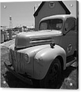 Route 66 Truck And Gas Station Acrylic Print