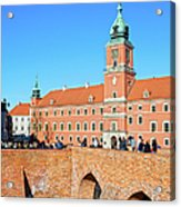 Royal Castle In Warsaw Acrylic Print by Artur Bogacki