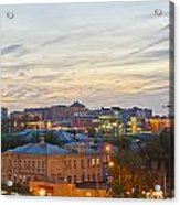 Russian City Night Acrylic Print