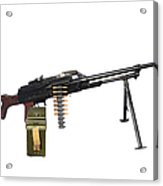 Russian Pkm General-purpose Machine Gun Acrylic Print