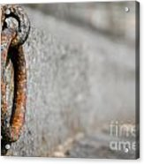 Rusty Ring Acrylic Print