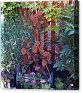 Rusty Rose Acrylic Print by JP Giarde