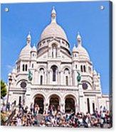 Sacre Coeur Basilica Paris France Acrylic Print