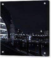 Sage Gateshead At Night Acrylic Print