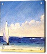 Sail On The Sea Acrylic Print
