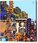 San Francisco Broadway Acrylic Print