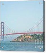 San Francisco Harbour Acrylic Print