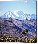 San Gorgonio Mountains Acrylic Print