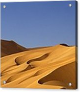 Sand Dune Against Clear Sky Acrylic Print