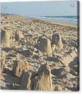 Sand Play Acrylic Print
