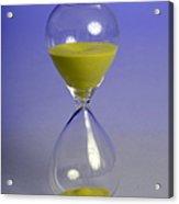 Sand Timer Acrylic Print