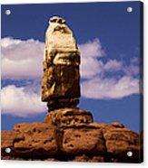 Santa Clause At Canyonlands National Park Acrylic Print