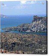 Santorini Volcano Acrylic Print