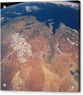 Satellite View Of Planet Earth Acrylic Print