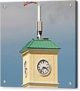 Save The Clock Tower Acrylic Print
