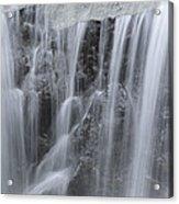 Scenic Waterfall In Borneo Rain Forest Acrylic Print