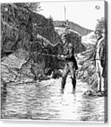 Scotland: Fishing, 1880 Acrylic Print