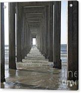 Scripps Pier La Jolla California 5 Acrylic Print