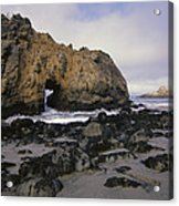 Sea Arch At Pfeiffer Beach Big Sur Acrylic Print