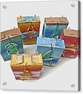 Sea Boxes Acrylic Print