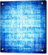 Seamless Honeycomb Pattern Acrylic Print