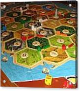 Settlers Of Catan Acrylic Print