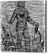 Sevastopol: Diver, 1858 Acrylic Print