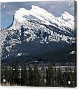 Sharp Rundle Peaks Acrylic Print