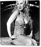 She Done Him Wrong, Mae West, 1933 Acrylic Print by Everett